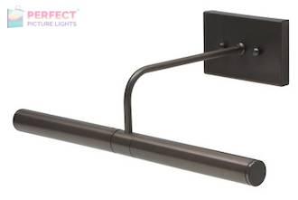 """Direct Wire Slim-Line 14"""" Oil Rubbed Bronze Picture Light"""