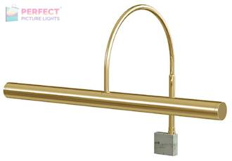 "Slim-Line XL 14"" Polished Brass Picture Light"