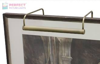 "Slim-Line 16"" Antique Brass Picture Light"