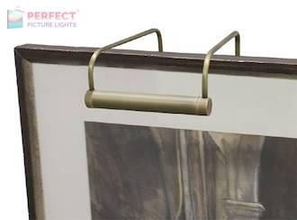"Slim-Line 6"" Antique Brass Picture Light"