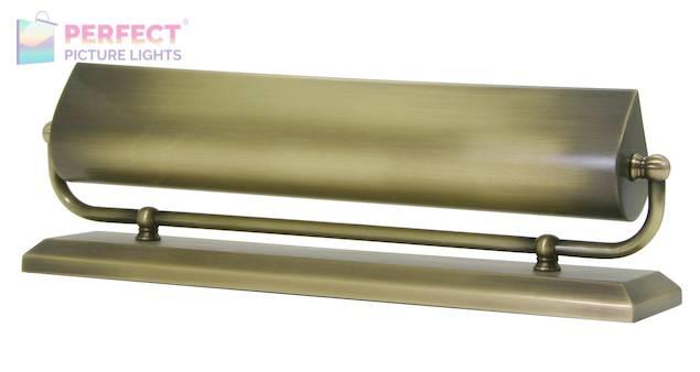 """14"""" Antique Brass Mantel Light"""