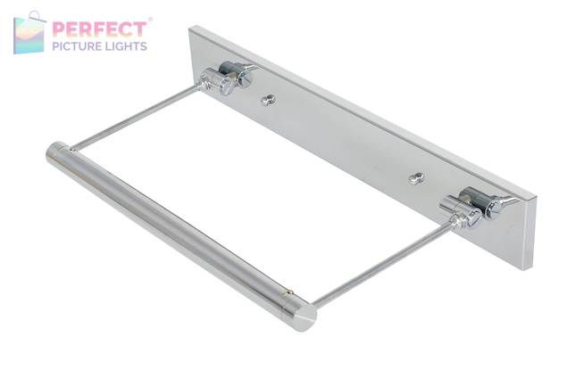 """15"""" Direct Wire Mendon LED Picture Light in Chrome"""