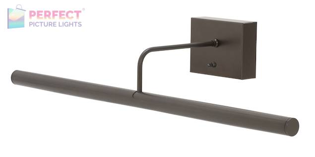 "Battery Operated Slim-LED 24"" Oil Rubbed Bronze Picture Light"