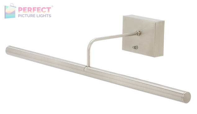 """Battery Operated Slim-LED 24"""" Satin Nickel Picture Light"""