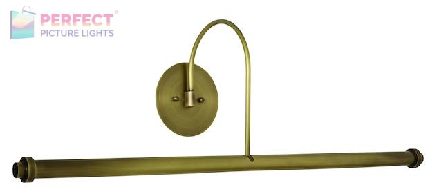 """30"""" Direct Wire XL LED Picture Light in Antique Brass"""