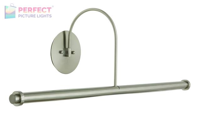 "30"" Direct Wire XL LED Picture Light in Satin Nickel"