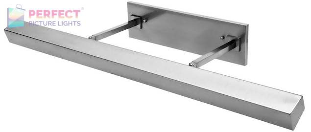 """36"""" Direct Wire Guilford LED Picture Light in Polished Nickel"""