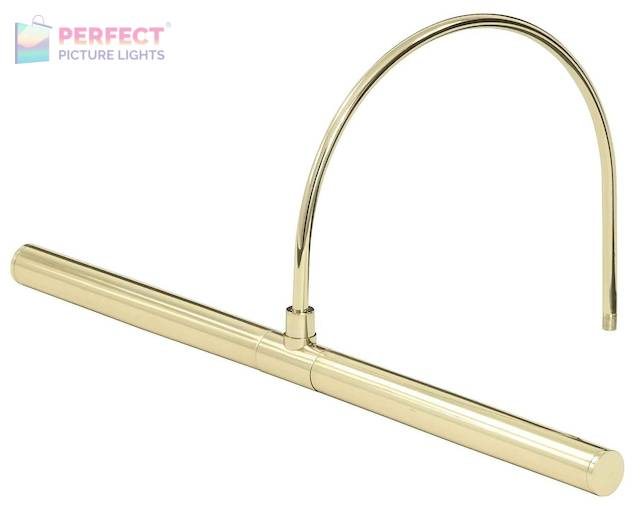 """Advent Profile LED 16"""" Polished Brass Picture Light"""