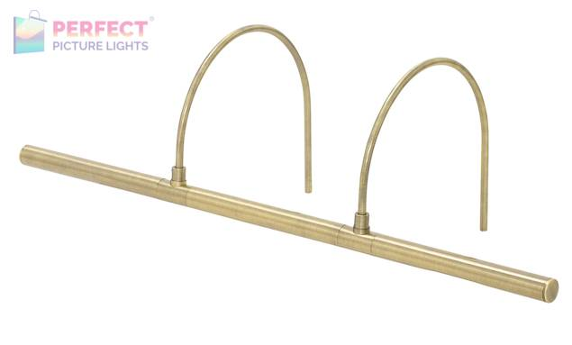 """Advent Profile 25"""" LED Picture Light in Antique Brass"""