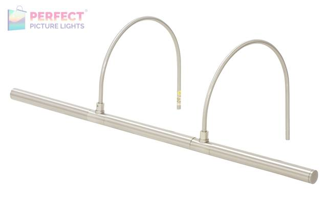 "Advent Profile 25"" LED Picture Light in Satin Nickel"