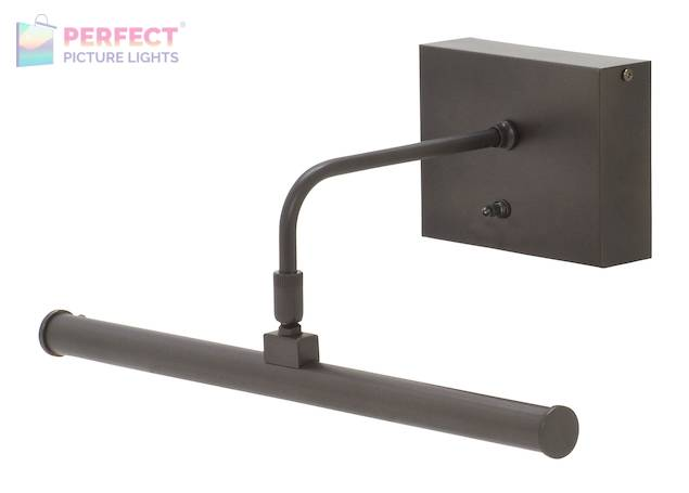 "Battery Operated Slim-LED 12"" Oil Rubbed Bronze Picture Light"