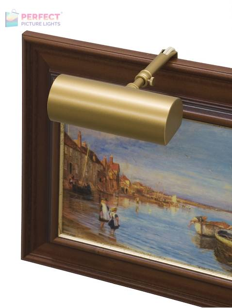 """Contemporary 5"""" Gold Picture Light"""