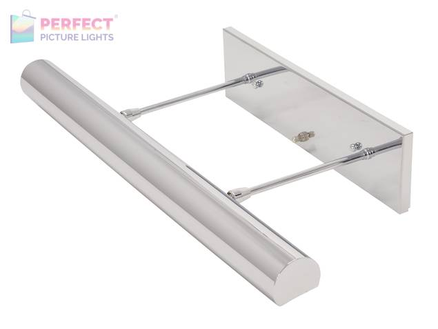 """Direct Wire Contemporary 24"""" Chrome Picture Light"""