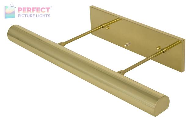 """Direct Wire Contemporary 24"""" Polished Brass Picture Light"""