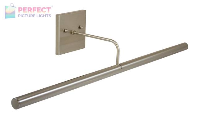 """Direct Wire Slim-Line LED 28"""" Satin Nickel Picture Light"""