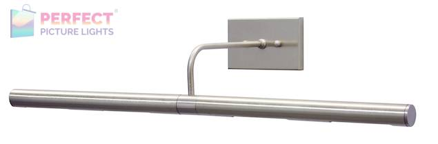 "Direct Wire Slim-Line 24"" Satin Nickel Picture Light"