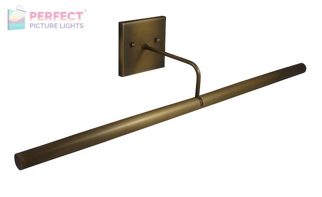 """Direct Wire Slim-Line LED 28"""" Antique Brass Picture Light"""