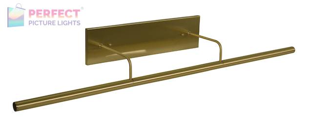 """Direct Wire Slim-Line LED 43"""" Satin Brass Picture Light"""