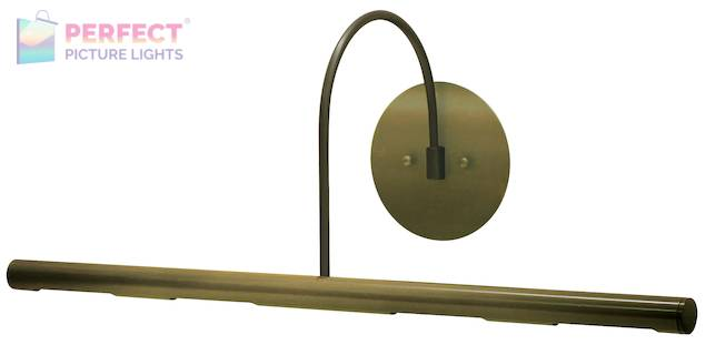 "Direct Wire Slim-Line XL 24"" Antique Brass Picture Light"