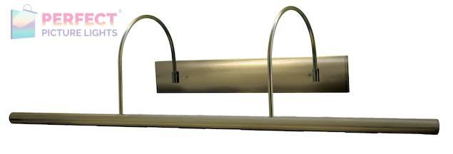 "Direct Wire Slim-Line XL 36"" Antique Brass Picture Light"