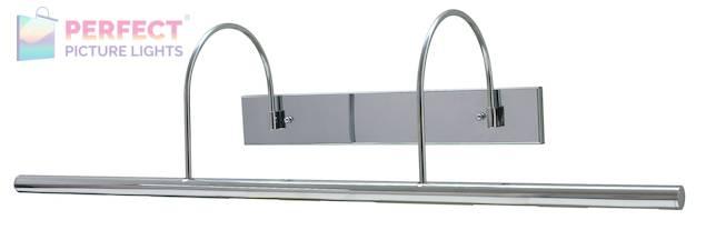 "Direct Wire Slim-Line XL 36"" Chrome Picture Light"