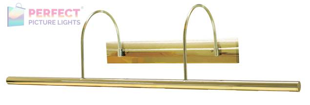 """Direct Wire Slim-Line XL 36"""" Polished Brass Picture Light"""