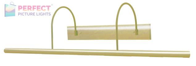 "Direct Wire Slim-Line XL 36"" Satin Brass Picture Light"