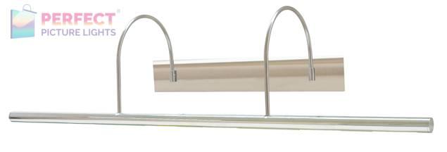 "Direct Wire Slim-Line XL 36"" Satin Nickel Picture Light"