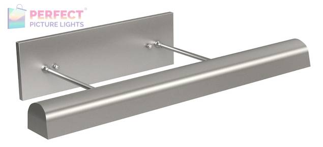 """Direct Wire Traditional 24"""" Satin Nickel Picture Light"""