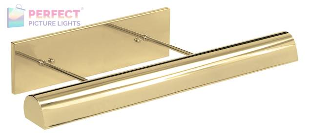"""Direct Wire 24"""" Classic Traditional LED Picture Light in Polished Brass"""