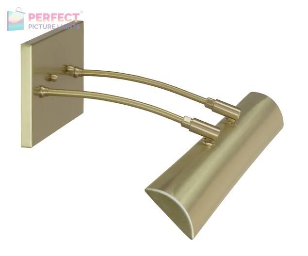 "Zenith 24""Direct Wire LEDZ picture light in Satin Brass"