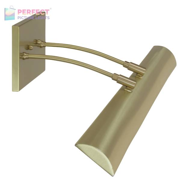 "Zenith 36""Direct Wire LEDZ picture light in Satin Brass"
