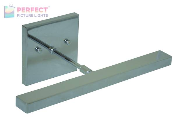 """Direct Wire Horizon 12"""" LED Picture Light in Chrome"""