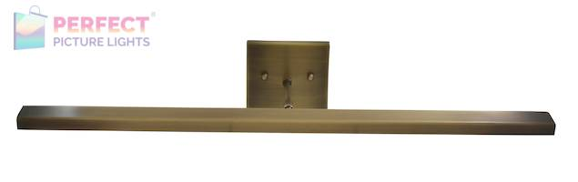"""Direct Wire Horizon 26"""" LED Picture Light in Antique Brass"""