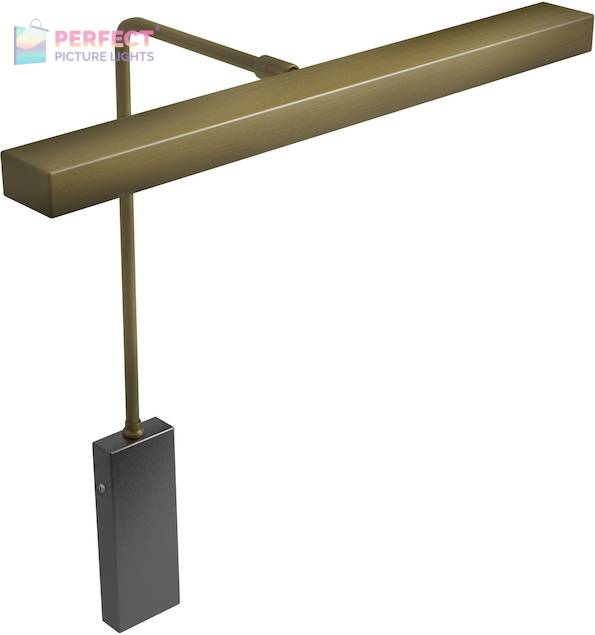 """Horizon 12"""" LED Picture Light in Antique Brass"""