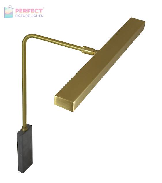 "Horizon 12"" LED Picture Light in Satin Brass"