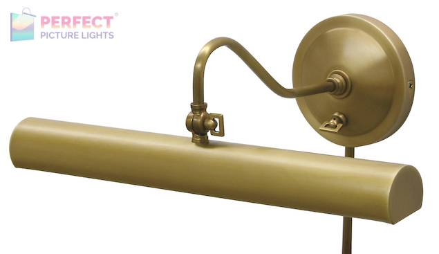 """Library Lamp 16"""" Weathered Brass"""
