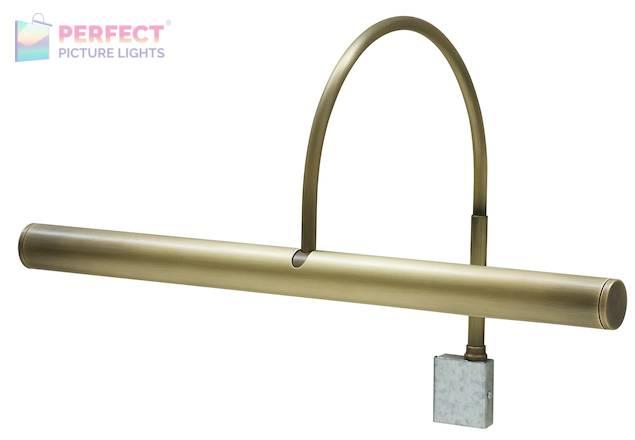 "Slim-Line XL 14"" Antique Brass Picture Light"