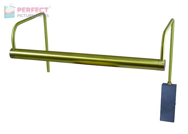 "Slim-Line 15"" LED Picture Light in Satin Brass"