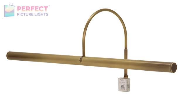 "Slim-Line XL 24"" Antique Brass Picture Light"