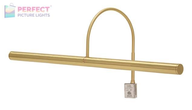 "Slim-Line XL 24"" Satin Brass Picture Light"
