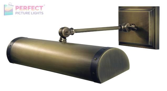 "Steamer Direct Wire LEDZ 16"" picture light in Antique Brass"