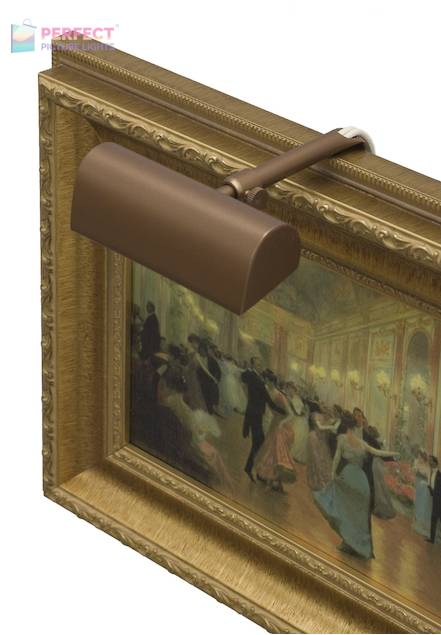 """Traditional 4"""" Bronze Picture Light"""