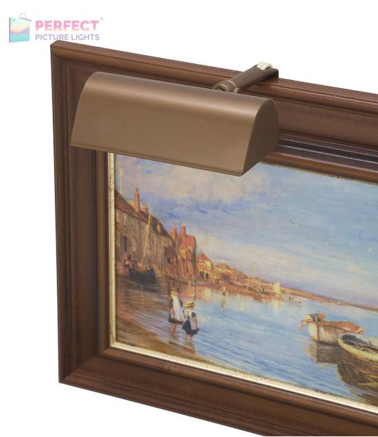 """Traditional 5"""" Bronze Picture Light"""