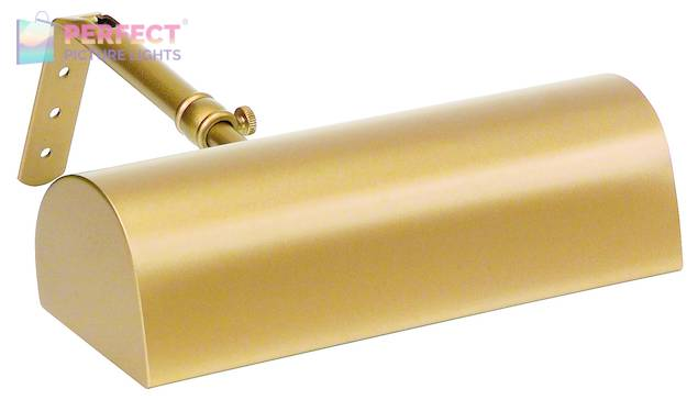 """Traditional 8"""" Gold Picture Light"""