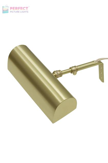 """Traditional 8"""" Satin Brass Picture Light"""