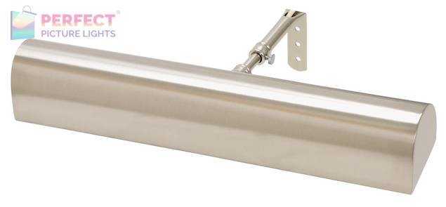 """Traditional LED 14"""" Satin Nickel Picture Light"""