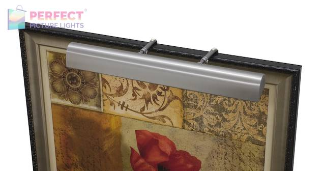 """Traditional LED 36"""" Pewter Picture Light"""