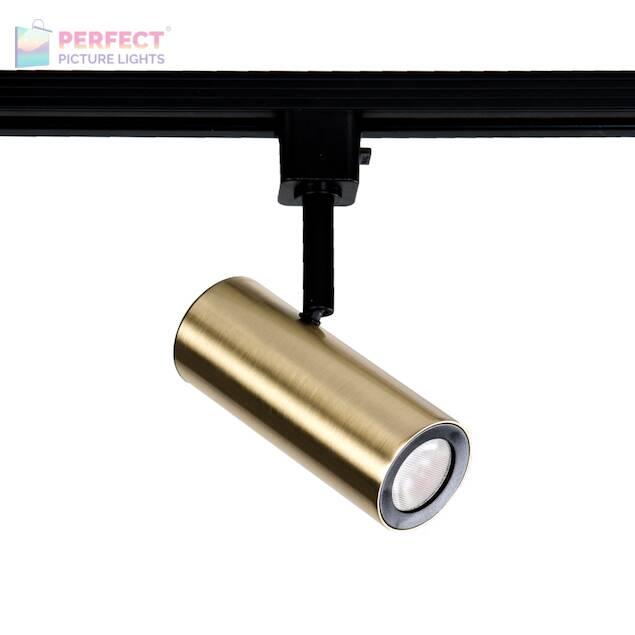 WAC Silo 10W LED Track Head - Brass