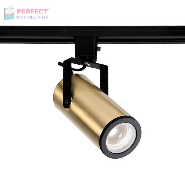 WAC Silo 20W LED Track Head - Brass